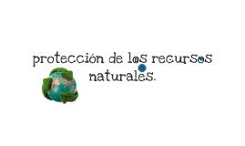 protección de los recursos naturales