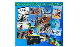 Copy of Los deportes extremos son aquellas actividades en su mayoría