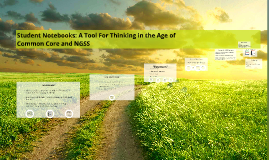 Copy of Student Notebooks: A Tool For Thinking in the Age of Common