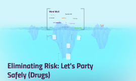 Eliminating Risk: Let's Party Safely (Drugs)