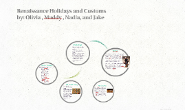 Renaissance Holidays and Customs