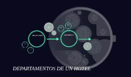 DEPARTAMENTOS DE UN HOTEL