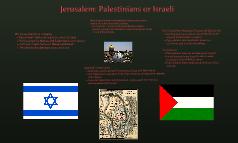 Jerusalem: Palestinians or Israeli