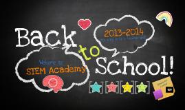 STEM Back to School!