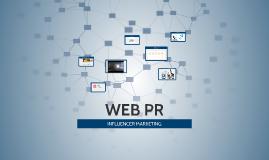 WEB PR- INFLUENCER MRKG