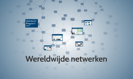 3HV H3 P3 Wereldwijde netwerken