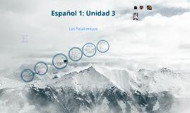 Espanol 1: Unidad 3 Los Pasatiempos