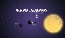 Managing Teams & Groups