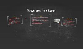 Temperamento x Humor