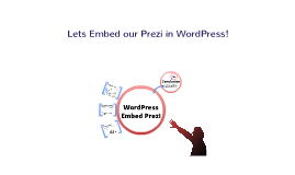 Embed Prezi in WordPress HTML