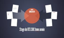 Stage de BTS SIO 2eme année