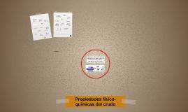 Fundamento de las propiedades del crudo