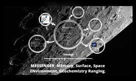 MESSENGER: MErcury, Surface, Space ENvironment, GEochemistry