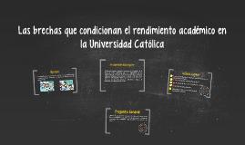 Los condicionamientos del rendimiento académico UC