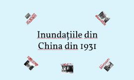Inundațiile din China din 1931