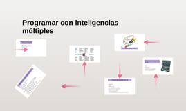 Programar un tema desde las inteligencias múltiples