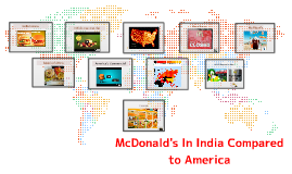 McDonald's In India Compared to America