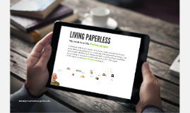 Copy of Copy of Paperless living
