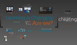 Learning is changing. Are we?