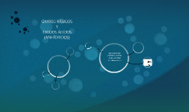 ÓXIDOS BÁSICOS Y ÁCIDOS (ANHÍDRIDOS)