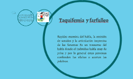 Copy of Taquifemia y farfulleo