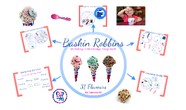 buskin robbin assignment To help americans perform their civic duty, many us ice cream manufacturers  have fun initiatives lined up baskin robbins is commemorating.