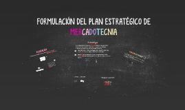 Formulación de la Planeación Estratégica