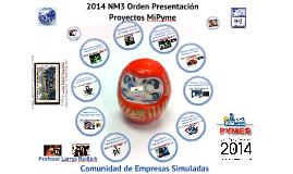 2014 NM3 Orden Presentaciones Relaciones Laborales y Código del Trabajo