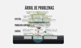 Copia de Árbol de problemas
