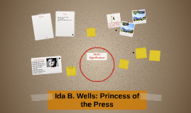 Ida B. Wells: Princess of the Press