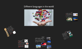 Different languages in the world