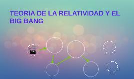 TEORIA DE LA RELATIVIDAD Y EL BIG BANG