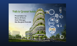 Path to greener Hotels
