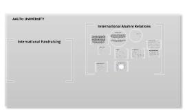 International Alumni Relations - Aalto University