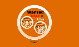 Copy of Wanted Dead or Alive