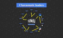 Charasmatic leaders