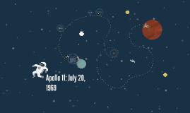 Apollo 11: July 20, 1969