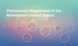 Pleistocene Megafauna of the Midwestern United States