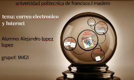 tema: correo electronico y internet