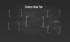 Chinese Head Tax