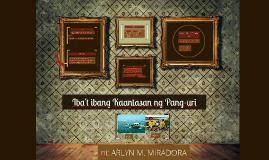 Copy of Iba't Ibang Kaantasan ng Pang-uri