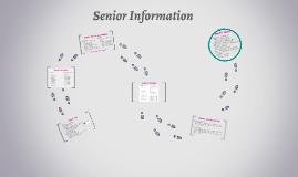 2020 Senior Info