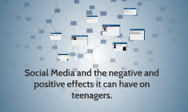 Social Media and its negative effects on teenagers