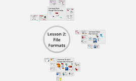 CAP 105 Lesson 2: File Formats