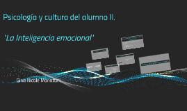 Psicologia y cultura del alumno II