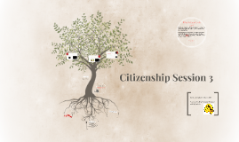 Citizenship Session 3