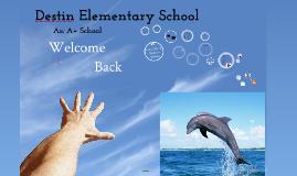 Destin Elementary Preplanning