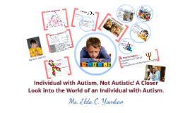 Individual with Autism, Not Autistic!