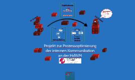 Projekt zur Prozessoptimierung der internen Kommunikation