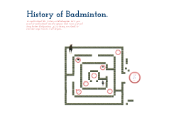 Copy of History of Badminton.